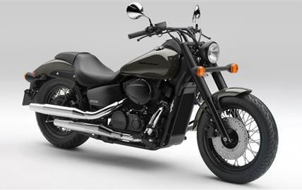 Honda VT750C2B Shadow Black Spirit