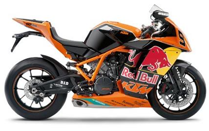 KTM RC8 R Red Bull Limited Edition