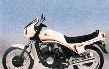 Honda VT 500 E