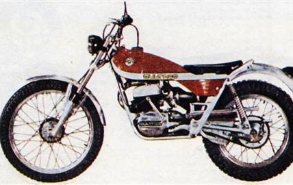 """Bultaco """"Sherpa T"""" 350"""