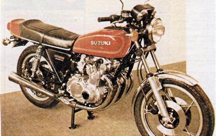 Suzuki GS 550 ET