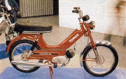 Tomos Automatic 3 m