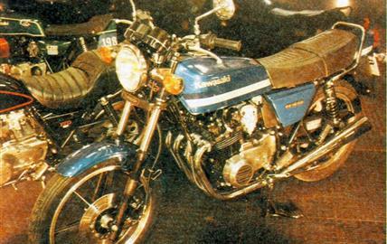 Kawasaki Z 400 J