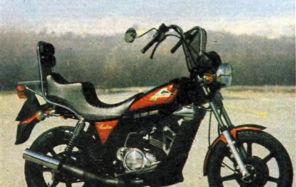 Laverda CU 125 Ride