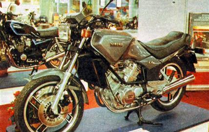 Yamaha XZ 550 V2