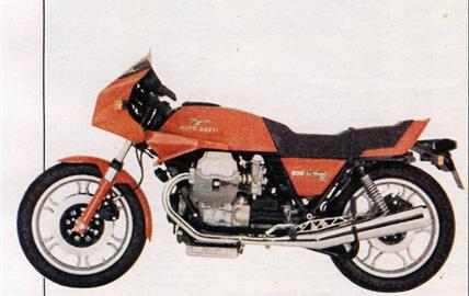 Moto Guzzi 850 Le Mans III