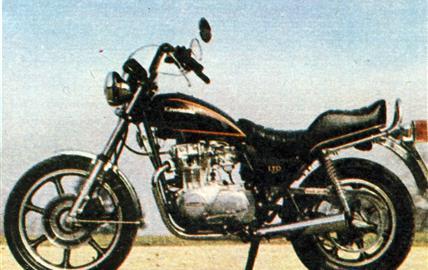 Kawasaki Z 440 LTD Belt Drive