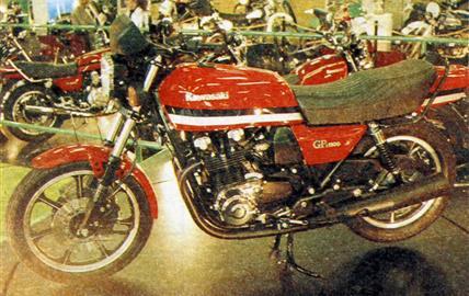 Kawasaki GP Z 1100 FI