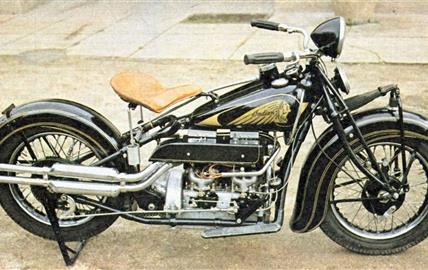 Indian 437 Sport Four