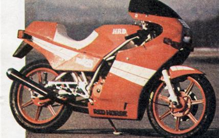 HRD Red Horse 125