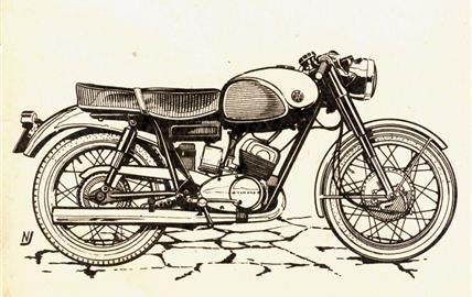 Yamaha 250 Sport YDS 2