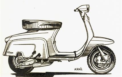 Lambretta 50 J