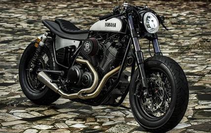 Yamaha XV950 Yard Built Speed Iron by Moto di Ferro