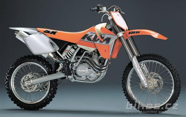 KTM 520 SX Racing