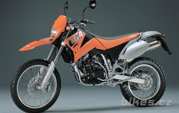 KTM 640 LC4-E orange