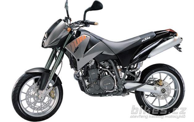 KTM 640 DUKE II, lime/titan
