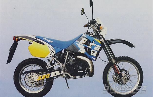 Praga ED 250 road enduro