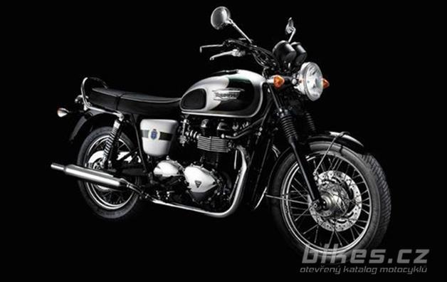 Triumph Bonneville T100 110th Anniversary Edition