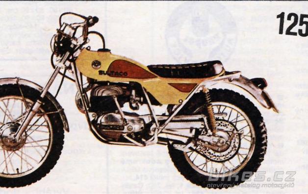 """Bultaco 125 """"Lobito"""" Mk6"""