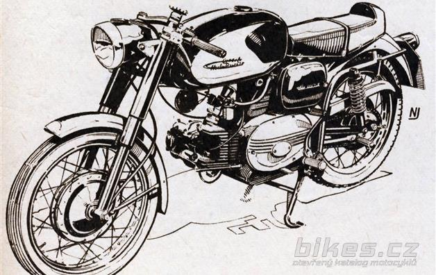 "Harley-Davidson Aermacchi ""Ala Verde"" 250"