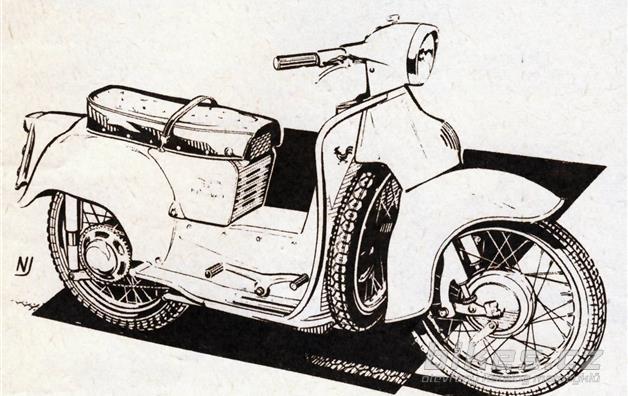 Moto Guzzi 200 Galletto