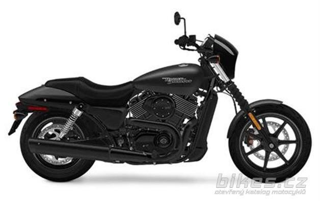 Harley-Davidson Street 750 Dark Custom
