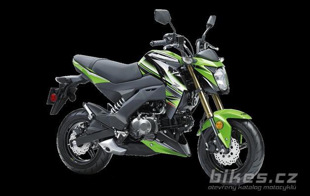 Kawasaki Z125 Pro KRT Edition