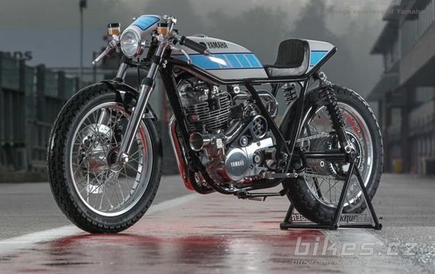 Yamaha SR400 Yard Built by Krugger