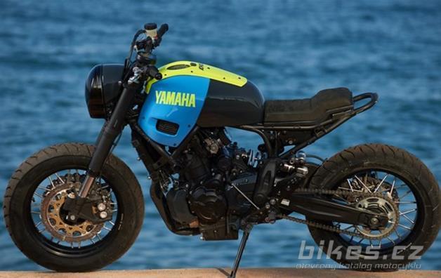 Yamaha XSR700 Yard Built Otokomae by Ad Hoc