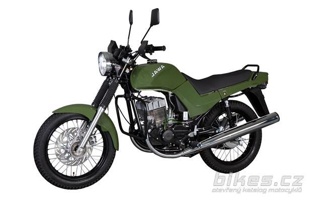 Jawa -CZ 350 Military