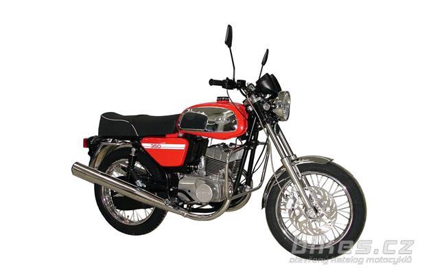 Jawa -CZ 350 Retro
