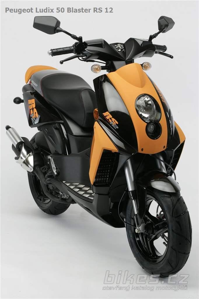 peugeot ludix 50 blaster rs 12 2009 n zory motork. Black Bedroom Furniture Sets. Home Design Ideas