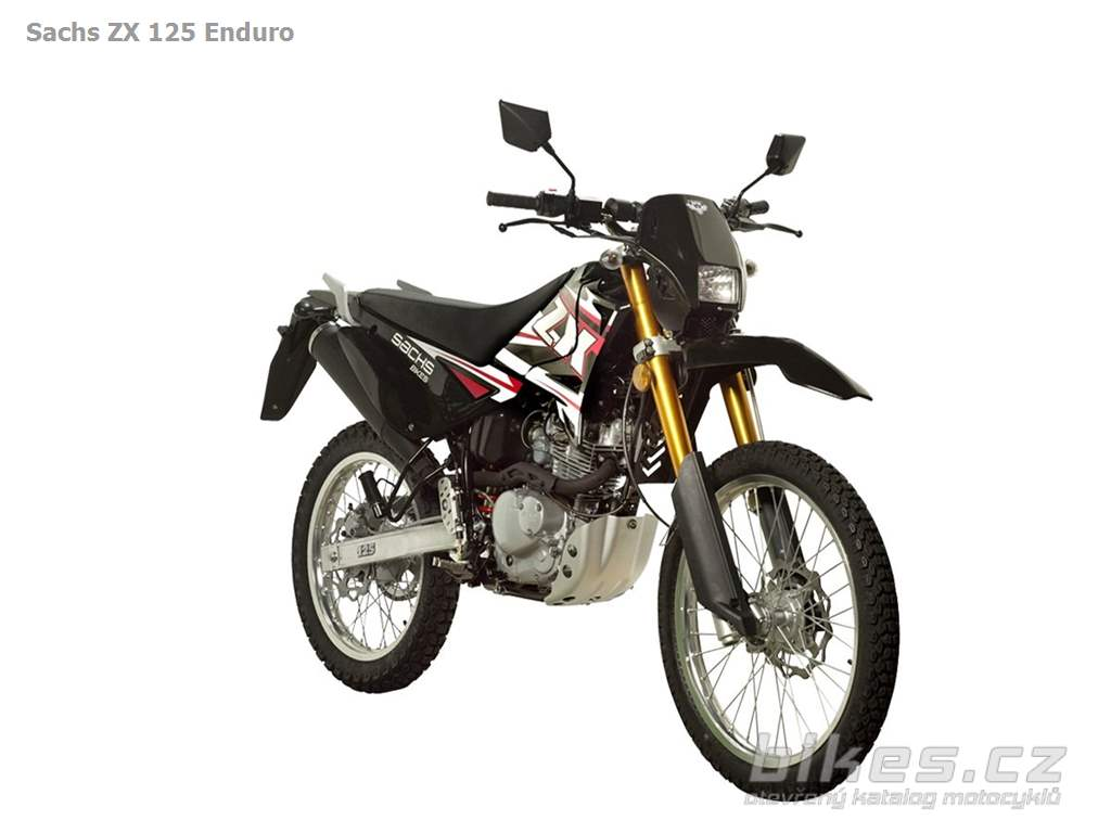 sachs zx 125 enduro 2011 n zory motork technick. Black Bedroom Furniture Sets. Home Design Ideas