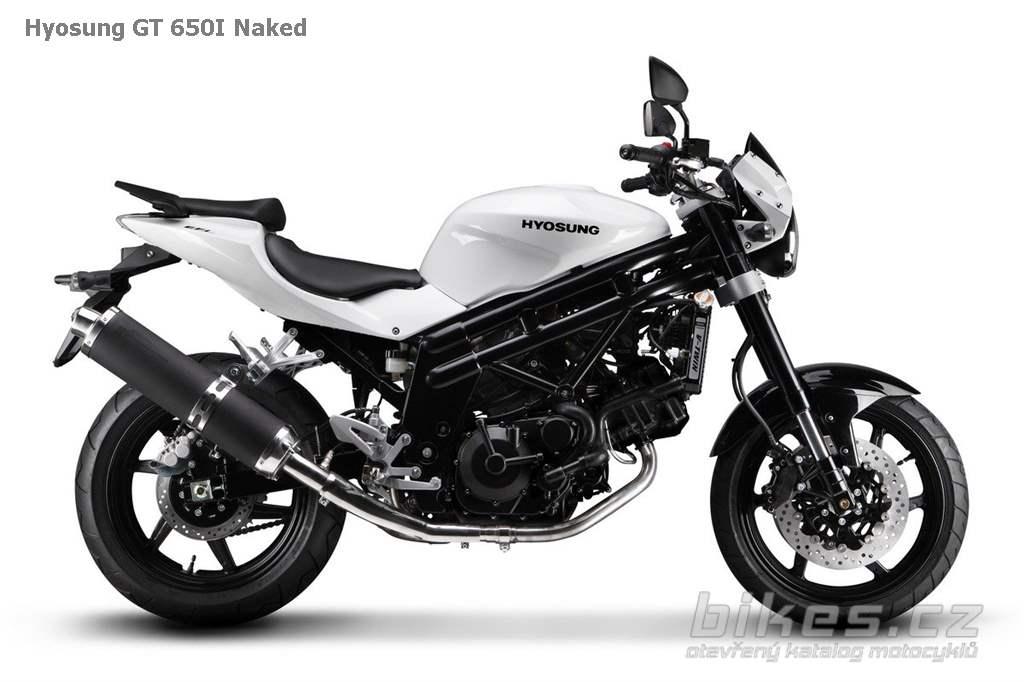 Аренда мотоцикла Hyosung GT 650 Naked, прокат мотоцикла