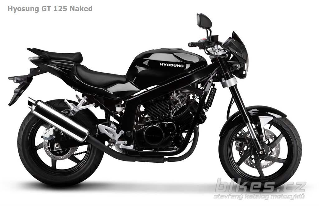 Hyosung GT 125 Naked (2011) - názory motorkářů, technické