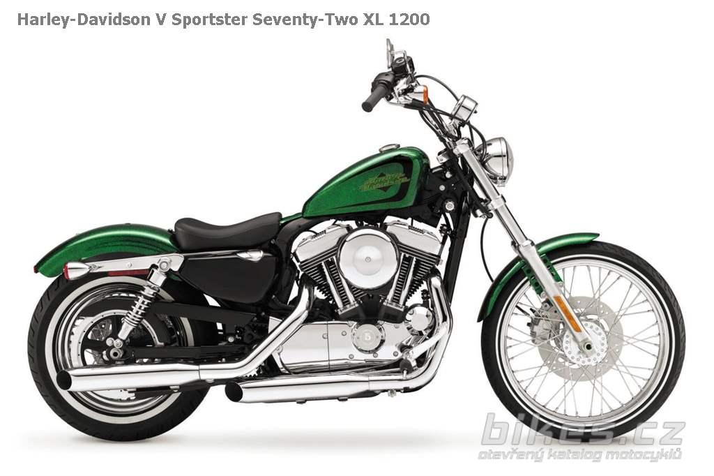 Harley-Davidson V Sportster Seventy-Two XL 1200 (2013