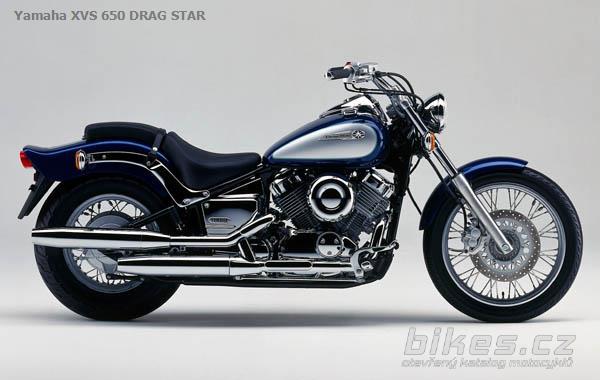 yamaha xvs 650 drag star 1998 n zory motork. Black Bedroom Furniture Sets. Home Design Ideas
